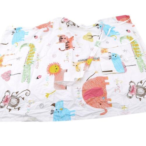 Burp Cloths Squirrel Fox Owl 3 Pack Retro Toweling Backed GREAT GIFT IDEA!!