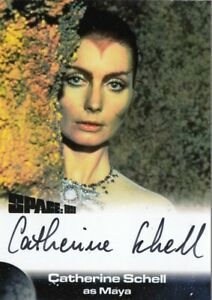 Unstoppable Space 1999 Series 3 Autograph Card CATHERINE SCHELL Maya S3-CS1 BLK