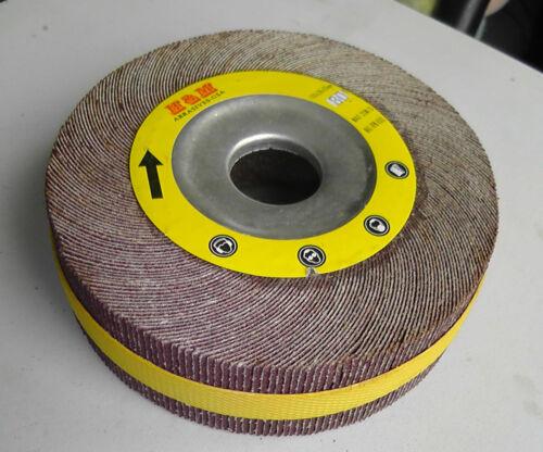 """Wholesale 10 Abrasive Flap sanding Wheel 6/"""" x 2/"""" x 1/"""" Aluminum Oxide 180 Grit"""