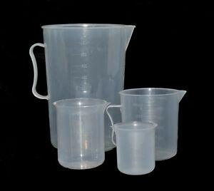 Graduated-Beaker-Chemical-Measuring-Jug-Set-2000-500-300-100ml