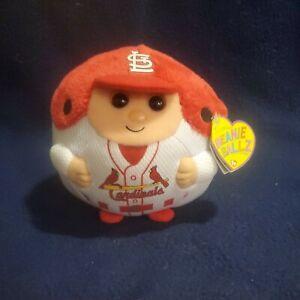 St Louis Cardinals 5 Inch Ty Beanie Ballz Plush - 65690021-NA