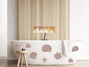 Details zu Wandtattoo Muscheln Badezimmer Wandaufkleber Set Seesterne Dekor  Wanddeko