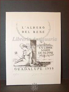 Erotica - Ex-libris Bulino Originale Firmato Fabrizio Bombino, Guadalupe 1999 Xswhrknm-07234959-650441560