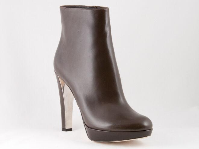 New Miss Dior braun Leather Stiefel 38 US 8 8 8 273979