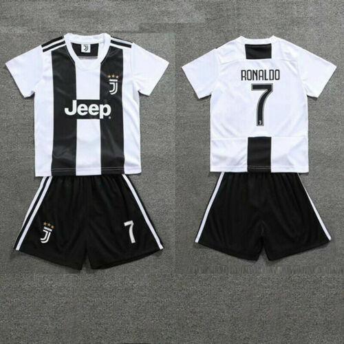 Kinder Fußball Kit Trikotset WM Sport Jersey Kit Kurzarm Shirt für Jungen 2-13 Y