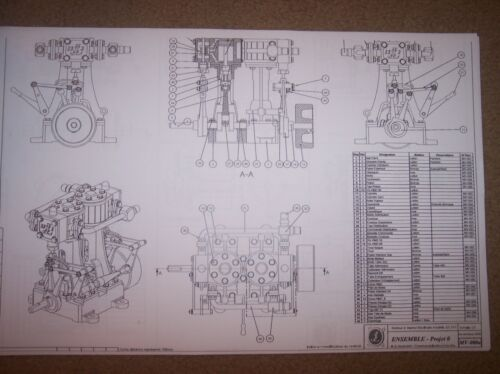 MODEL STEAM ENGINE plans