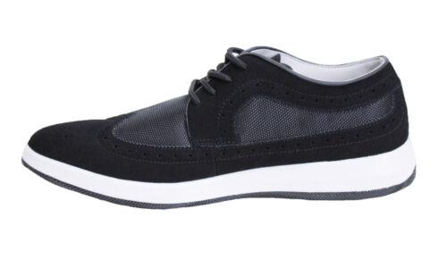 Diamant Chaussures 40 Écologique Homme 44 De Noir Oxford Cuir Daim Casual À qRwaRFEC
