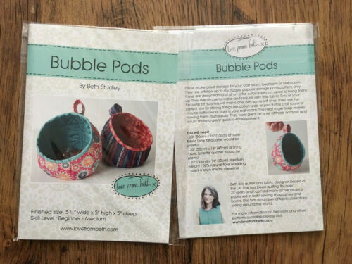 Bubble Pods Printed Sewing Pattern by Beth Studley