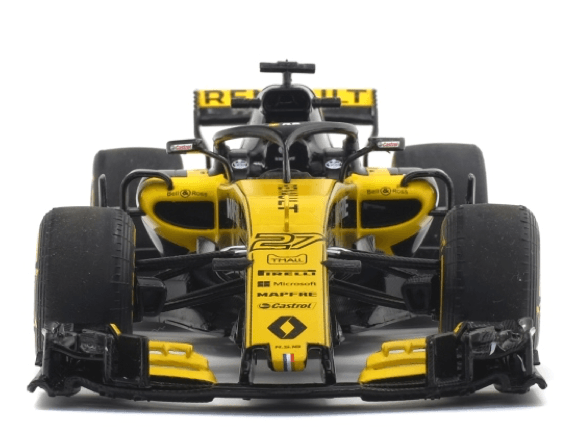 SOLIDO modèles S1802401 1 18 2018 RENAULT RS18 Nico Hulkenberg Formula 1 ™ Modèle