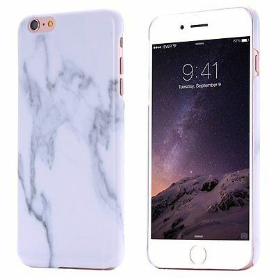Hot Print Marble Pattern Ultra Thin Case Hard PC Cover For iPhone 5/5s/6/6s/plus