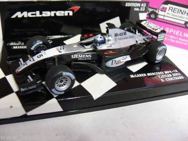 1 43 Minichamps McLaren MB MP4-18 Testcar Coulthard '03 530034315