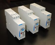 LOT OF 3 CROUZET 88-867-435 TIME DELAY RELAY