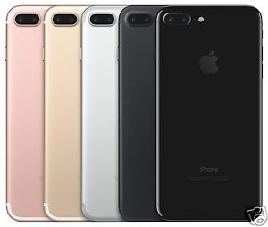 buy online 7af95 cd12f Details about Apple iPhone 7 Plus AT&T Wireless Smartphone Black Gold Rose  Gold Silver 32GB