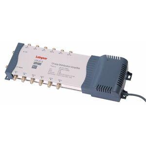 Amplificador-de-TV-de-distribucion-de-Antena-de-12-vias-Labgear-LDL212-Splitter-Booster-9-10-11