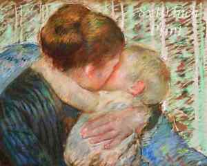 Mother Child 8x10 Print Picture 2040 Baby on Mother/'s Arm by Mary Cassatt