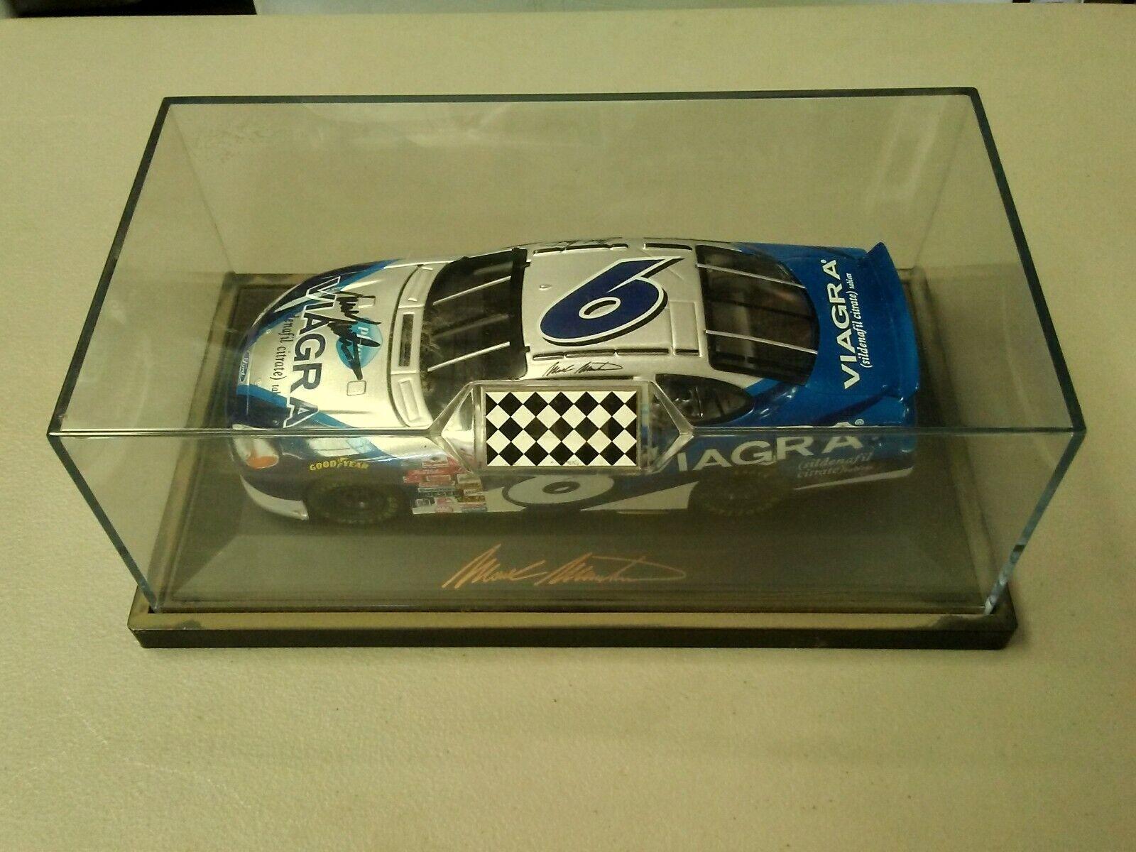 6 Mark Martin NASvoiture TC propriétaires 1 24 Diecast voiture _'01 Viagra 1 A  nouveaux produits nouveautés