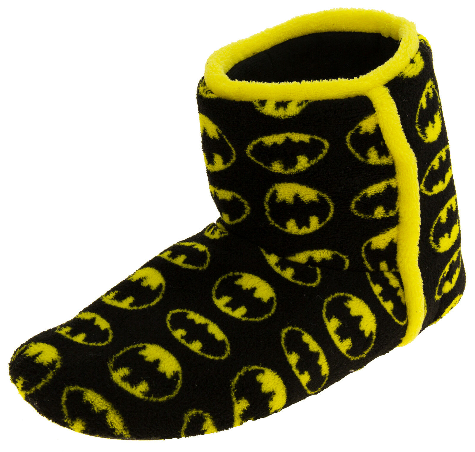 Homme magnifique Batman Chaud Polaire Chaud Batman À Enfiler Bottes Pantoufles Tailles UK 7 8 9 10 11 12 8b8a00