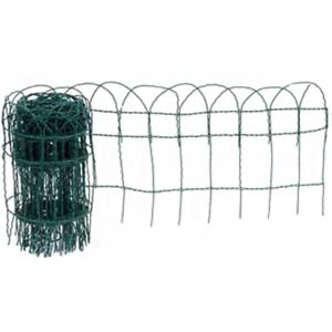 Apollo en plastique vert enduit frontière 10 m x 650 mm