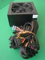 Large 750w Gaming Quiet Fan 750 Watt Psu Sata Atx Power Supply Pcie Sli