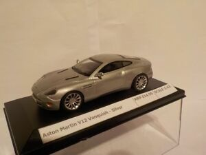 Aston-Martin-V12-Vanquish-Model-Cars-1-43-Scale-New-And-Sealed