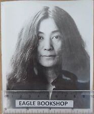 YOKO ONO ORIGINAL U.P. PRESS PHOTO 1973