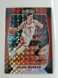 2017-18 Prizm Mosaic Basketball Devin Booker RED