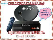 DISHTV NXT HD+ Connection  <Free North Titanium Pack + HD pack Worth ₹780>