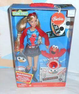 2006 Tickle Me Elmo Barbie ~NEW IN BOX~