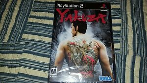 Yakuza-1-PlayStation-2-ps2-BRAND-NEW-FACTORY-SEALED-NEW-OLD-STOCK-BLACK-LABEL