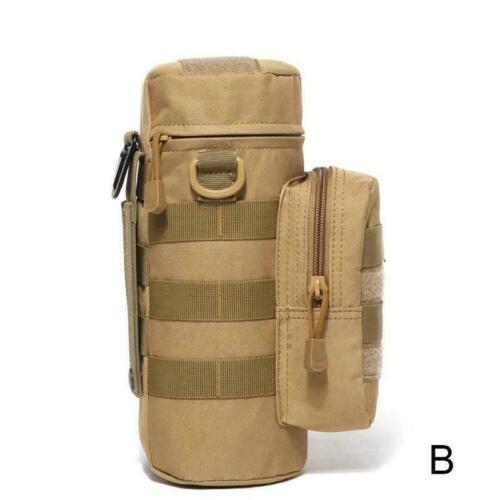 Water Bottle Bag Outdoor New Tactical Kettle Pouch Holder Bag E9H8
