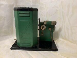 Vintage Antique Excel Projector Replacement Parts Display
