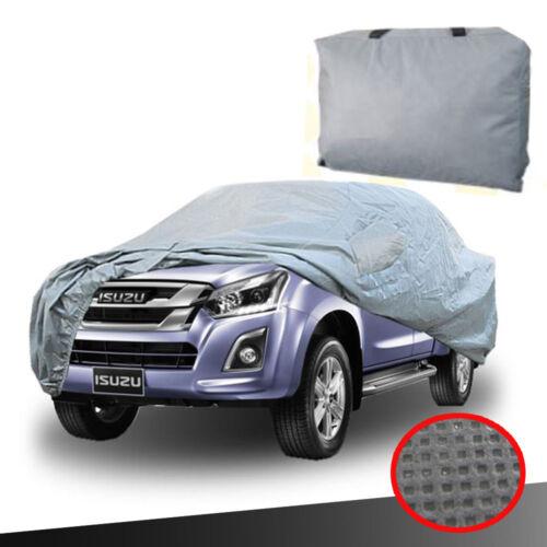 COVER CAR WATERPROOF SUN RAIN DUST PROTECTION FOR ISUZU D-MAX DMAX 2012 14 16 18