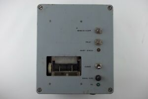 Vintage-Kurt-Eichweber-Printer-for-Avionics-or-Military-NASA-Use