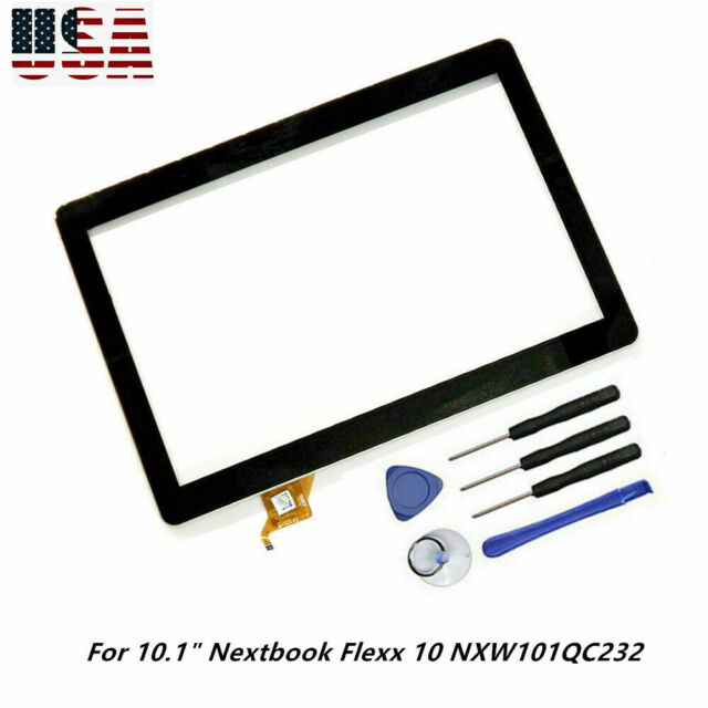 """Touch Screen Digitizer Panel for 10.1/"""" inch Nextbook Flexx 10 NXW101QC232 Tablet"""