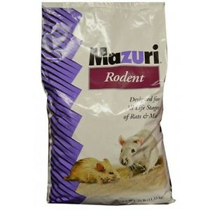 Mazuri specializes in creating nutritionally complete diets for a number of exotic animals including mice and rats. Exotic Animal Supply has a number of rat breeder diets and rat maintenance diets from Mazuri including Rat and Mouse Diet 5E09, Rodent Breeder 5M30, and Rodent Pellets