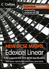 New GCSE Maths: Student Book Foundation 1: Edexcel Linear (A) by HarperCollins Publishers (Paperback, 2010)