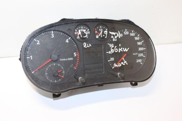 #3040z Audi A3 66kW 1.9 TDI LHD Speedometer Instrument Cluster OEM 8L0919860