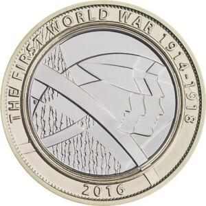 Fast Handgehoben Die Erste Weltkrieg Wwi 1914 1918 Uk Zwei Pfund