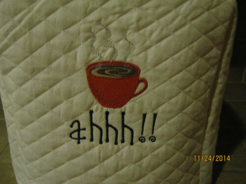 3 Colors to choose from New Keurig Coffee Maker Appliance Covers 3 Sizes