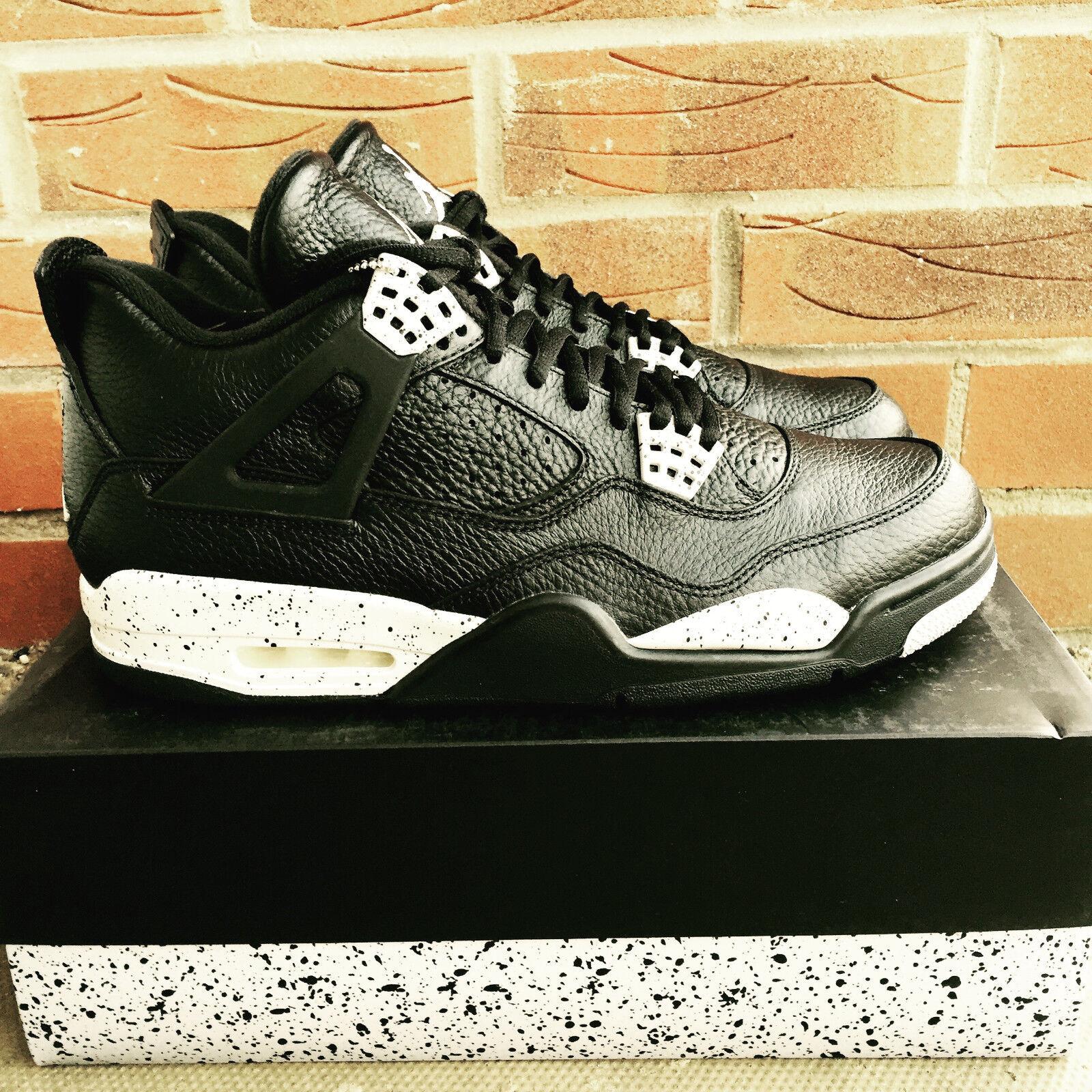 Nike Air Jordan 4 Retro LS Oreo