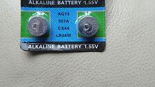 2 x LR44 A76 AG13 PX76A G13A 1,5 V Batterie