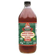 Bragg Organic Apple Cider Vinegar & Honey Blend 473ml (Pack of 3)