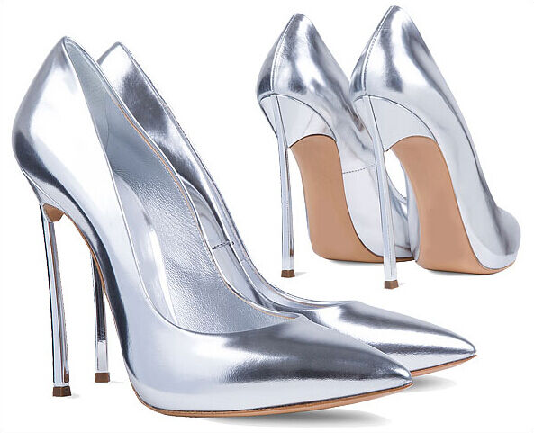 Silver Womens gold High Heel Stilettos Pointy Pointy Pointy Toe Party Sexy New Pumps shoes 227f23