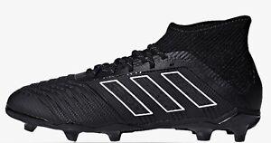 Adidas-Predator-18-1-Terre-Ferme-Garcons-Chaussures-De-Football