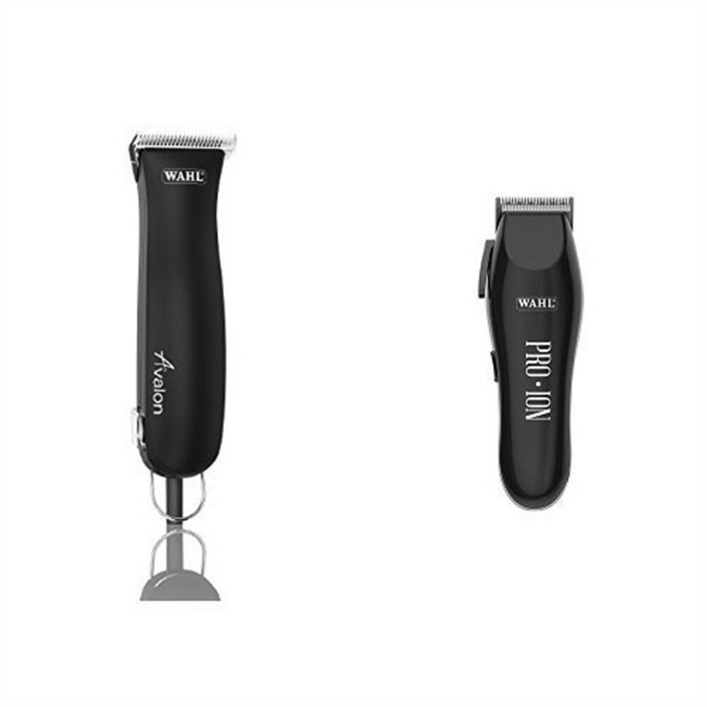 Wahl Avalon Avalon Wahl Horse Clipper Set With Pro Ion Cordless Horse Trimmer 6a3376