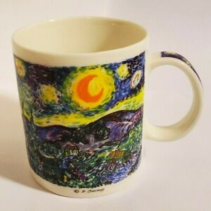 Chaleur Van Gogh Starry Night Masters Collection Coffee Mug D Burrows Rare Ebay