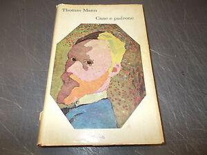 THOMAS-MANN-CANE-E-PADRONE-I-CORALLI-EINAUDI-57-1964-HARDCOVER-OK