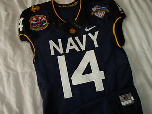thompson 2013 navy vs army naval academy midshipmen nike authentic