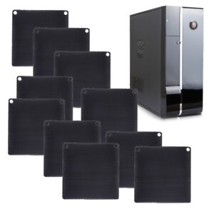 10x-Black-Computer-PC-Dustproof-Cooler-Fan-Case-Cover-Dust-Filter-Mesh-80-x-80mm