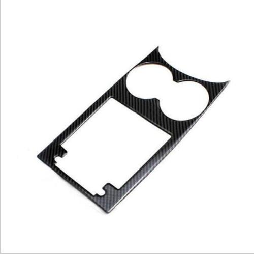 Carbon Fiber Water Cup Holder Panel Frame Trim pour Porsche Macan 14-16 A04